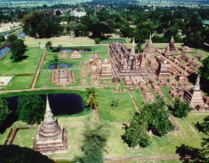 Thailand – historic town of Sukhothai and associated historic towns