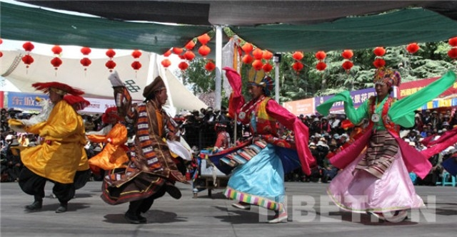 Tibet receives 1.4 mln tourists during Shoton Festival