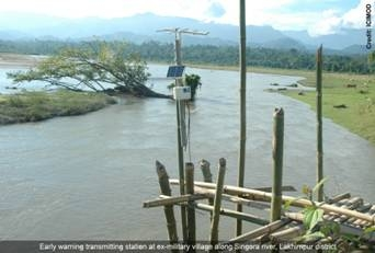 ICIMOD's Community based Flood Warning System receives a Global Award