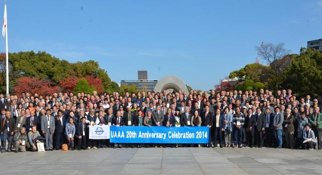 Union of Asian Alpine Associations (UAAA) celebrates 20th anniversary in Hiroshima