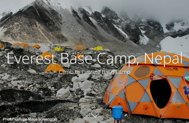 Google launched a virtual tour of Nepal's Everest region