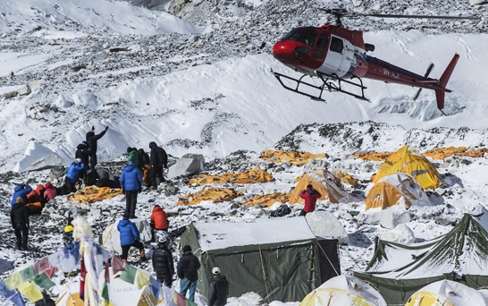 Climbers call off Everest expeditions after earthquake