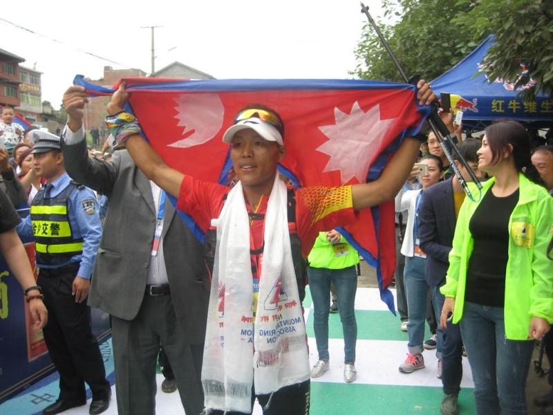 Asian Mountain Racing Challenge held in Guizhou China, Sunuwar declared champion