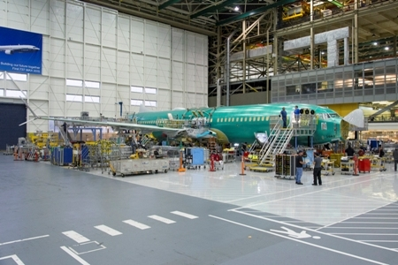 Boeing begins final assembly of first 737 MAX