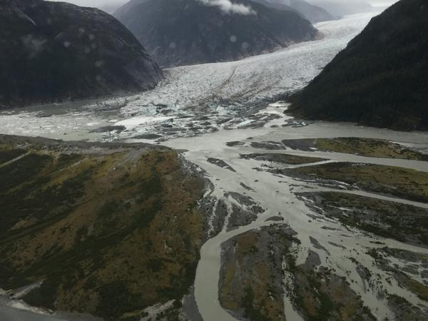 Glacier Lake bursts in Alaska