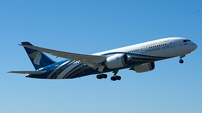 Boeing celebrates delivery of Oman Air's first 787 Dreamliner