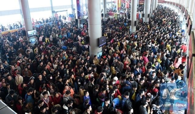 Holiday season in China and Hong Kong
