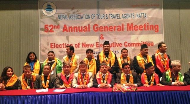 NATTA elects new Executive Committee, Acharya elected President