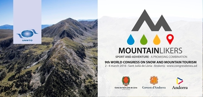 Andorra to host 9th World Congress on Snow and Mountain Tourism
