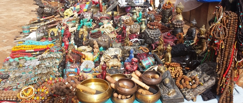Souvenir Shopping in Nepal