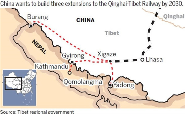Chinese technology to make Himalayan train possible