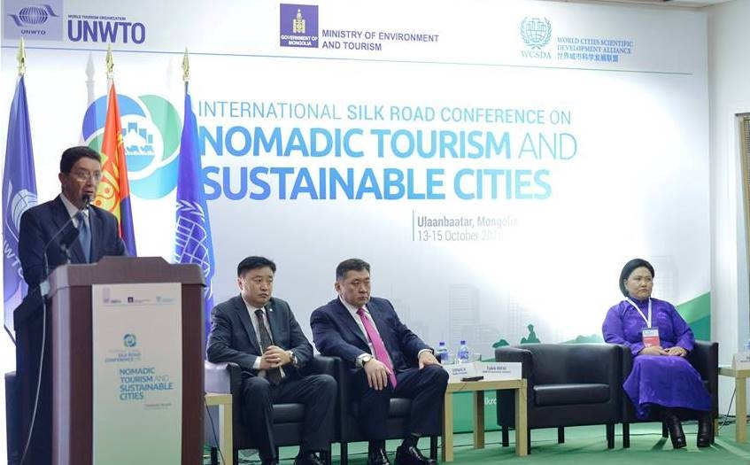 Mongolia hosts Silk Road Conference on Nomadic Tourism and Sustainable Cities