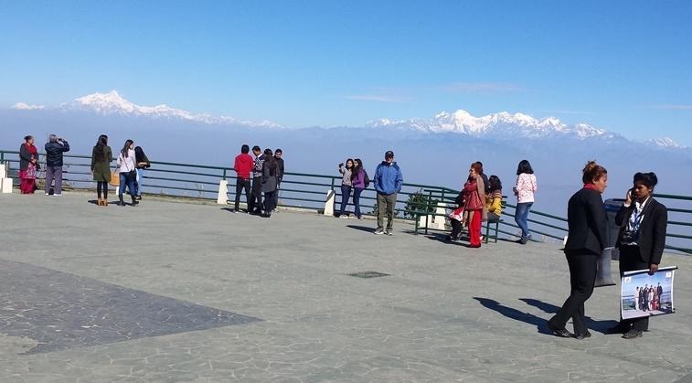 Chandragiri Hill on the South-West of Kathmandu