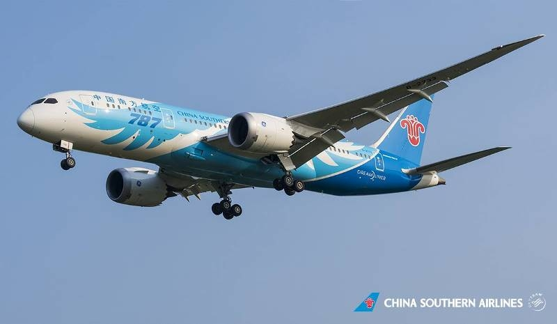 China Southern Airlines starts flight from Guangzhou to Mexico