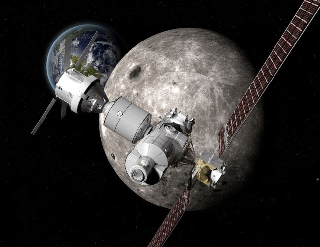 Boeing unveils deep space concepts for Moon and Mars exploration