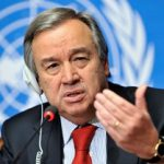 UN Chief calls to back ambitious action on climate change for future generations