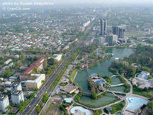 A view of Tashkent , Uzbekistan