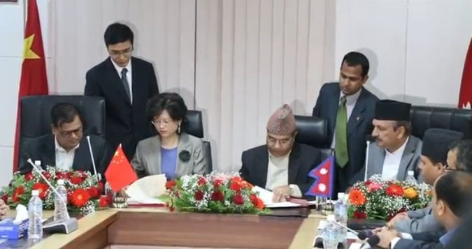 Nepal, China sign MoU on Belt and Road Initiative cooperation