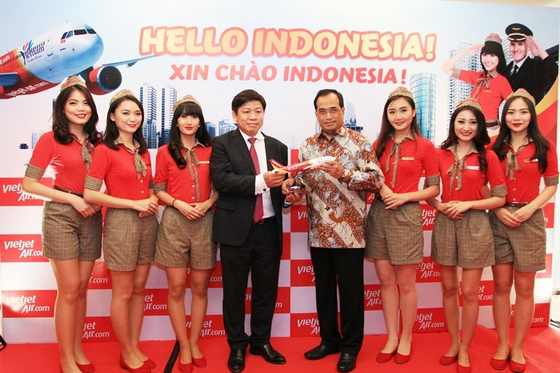Vietjet announces new international route from Ho Chi Minh City to Jakarta