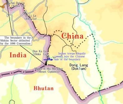 """ China to continue patrolling, defending Doklam area """
