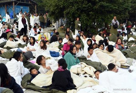 Strong  earthquake hits Sichuan, Xinjiang of China