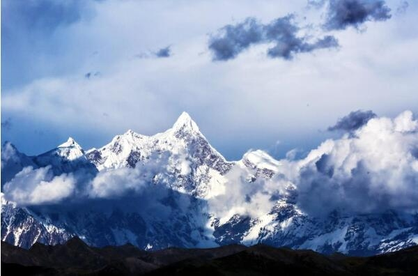 Namcha Barwa mountain  in Tibet Autonomous Region China