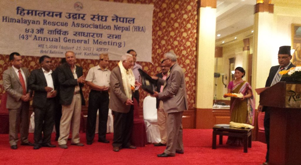 HRA to strengthen rescue and training activities in mountain regions of Nepal