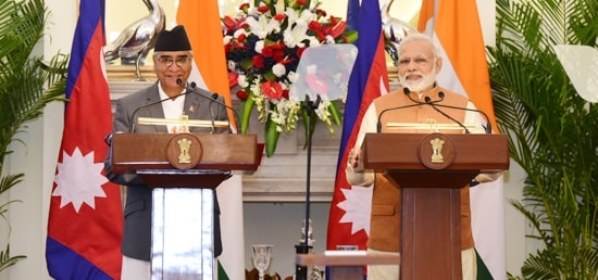 Nepal, India sign 8 MoUs , PM urges business communities to invest in Nepal