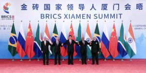 BRICS leaders pledge to work for equitable global economic order , issue Xiamen Declaration