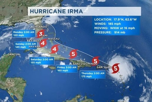 UNWTO saddened by the tragic effects of hurricane Irma , 22nd General Assembly in China