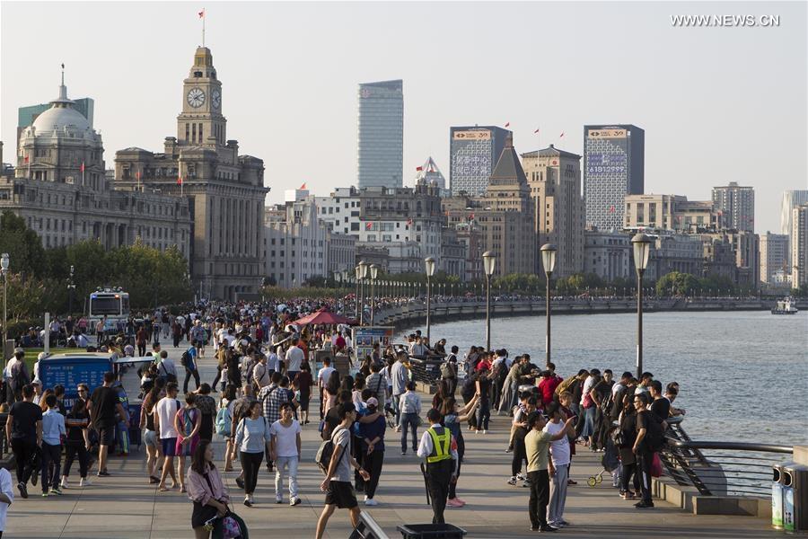 Popular tourist destination – Shanghai