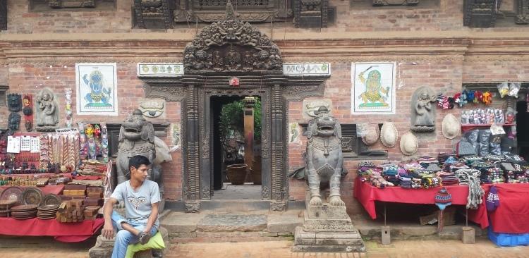 Nepali handicrafs in Bhaktapur – A world heritage site of Nepal