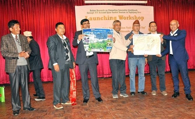 ' Kanchenjunga Spice Garden Tourism Trail ' developed in Taplejung