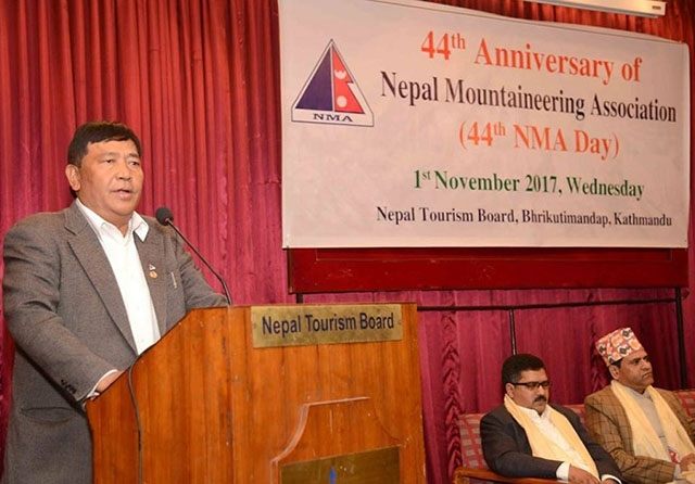 Nepal Mountaineering celebrates 44th anniversary
