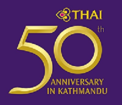 THAI Airways celebrates 50th Anniversary of Bangkok- Kathmandu Route