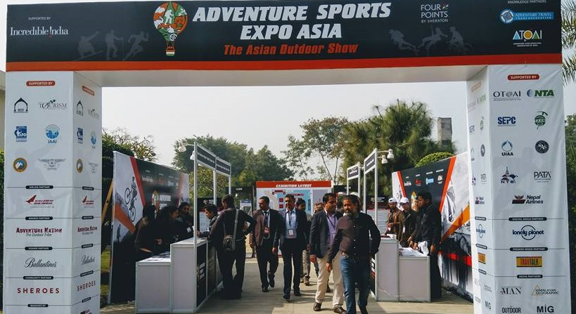 Nepal promoted at Adventure Sports Expo Asia in Delhi