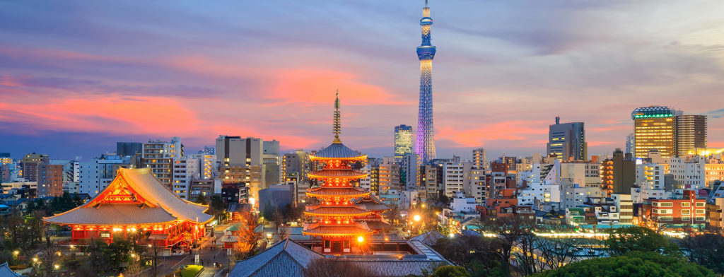 28.7 million foreign tourists entered Japan in 2017