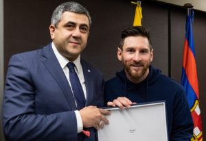 Messi appointed Ambassador for Responsible Tourism