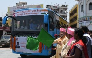 Nepal, India inaugurate Ramayana Circuit and direct bus service between Janakpur – Ayodhya