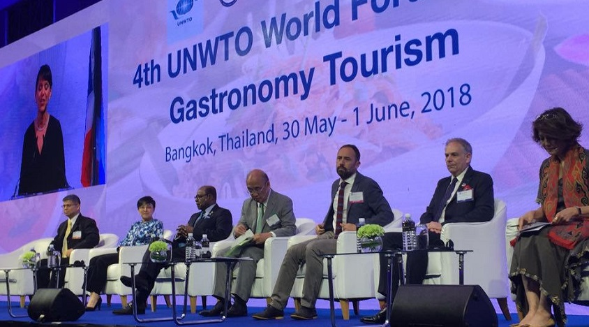 World conference on gastronomy tourism