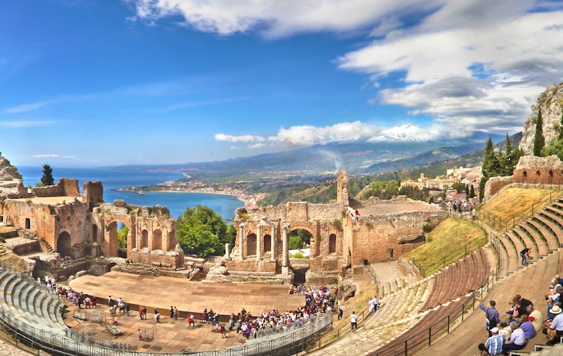 Largest Island In The Mediterranean Sea Sicily Travelbiznews